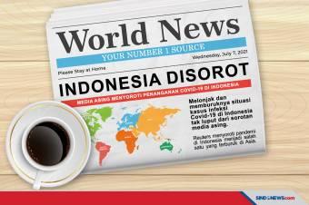 Media Asing Soroti Penanganan Covid-19 di Indonesia