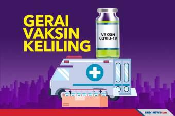 Polres Jakarta Pusat Buka Gerai Vaksinasi Keliling