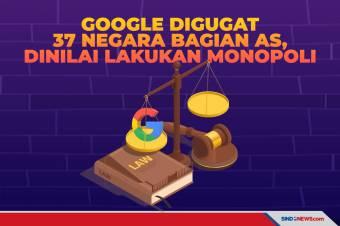 Google Digugat 37 Negara Bagian AS, Dinilai Lakukan Monopoli