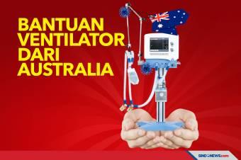 Indonesia Terima Bantuan Ventilator dari Australia