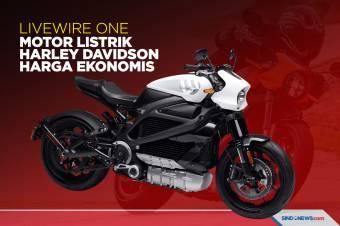 LiveWire One, Motor Listrik Harley Davidson dengan Harga Murah
