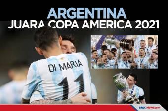 Copa America 2021 Trofi Pertama Lionel Messi untuk Argentina