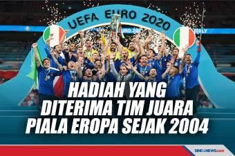 Hadiah yang Diterima Tim Juara Piala Eropa Sejak 2020