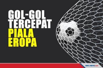 Berikut Gol-Gol Tercepat dalam Sejarah Piala Eropa