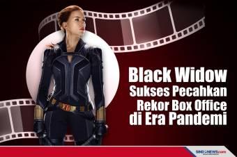 Black Widow Sukses Pecahkan Rekor Box Office di Era Pandemi