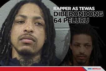 Baru Bebas dari Penjara, Rapper AS Diberondong 64 Peluru