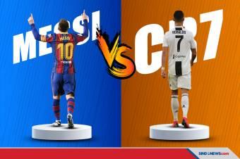 Lionel Messi vs Cristiano Ronaldo, Siapa Lebih Berprestasi?