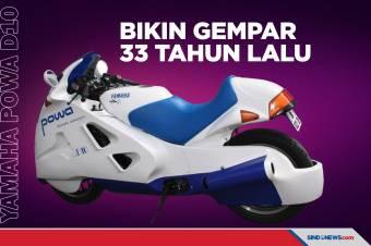 Yamaha Powa D10, Motor Konsep yang Bikin Gempar 33 Tahun Lalu