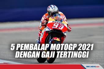 5 Pembalap MotoGP 2021 yang Terima Gaji Paling Tinggi