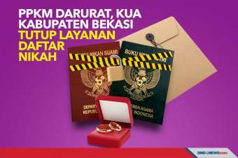 PPKM Darurat, KUA Kabupaten Bekasi Tutup Layanan Daftar Nikah