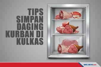 Jangan Sembarangan, Ini Tips Menyimpan Daging Kurban di Kulkas