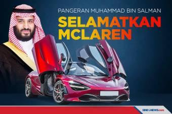 Nyaris Bangkrut, McLaren Diselamatkan Pangeran Muhammad bin Salman
