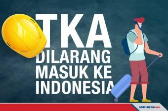 Tenaga Kerja Asing Dilarang Masuk ke Indonesia Mulai 21 Juli