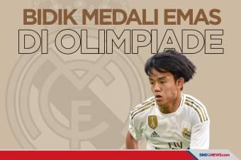 Winger Real Madrid Bidik Medali Emas Olimpiade Tokyo 2020