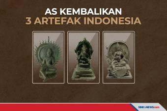 AS Kembalikan 3 Artefak yang Diselundupkan dari Indonesia