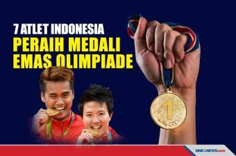 Tujuh Atlet Indonesia Peraih Medali Emas Olimpiade