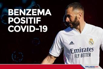 Real Madrid Umumkan Karim Benzema Positif Covid-19