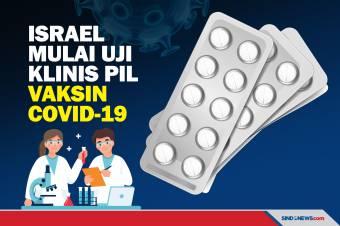 Israel akan Uji Klinis Pil Vaksin Covid-19 Bulan Depan