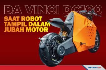 Motor Da Vinci DC100, Saat Robot Tampil dalam Jubah Motor