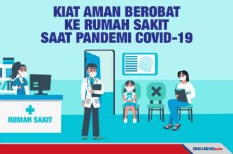 Kiat Aman Berobat ke Rumah Sakit Saat Masa Pandemi Covid-19