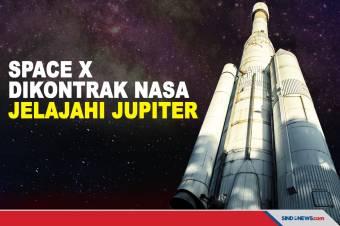 NASA Beri Kontrak ke SpaceX untuk Jelajahi Planet Jupiter