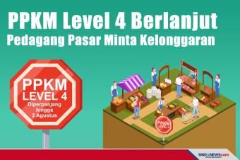 PPKM Level 4 Berlanjut, Pedagang Pasar Minta Kelonggaran