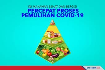 Ini Makanan Sehat dan bergizi Percepat Proses Pemulihan Covid-19
