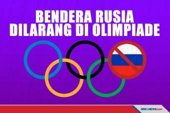 Ini Alasan Kenapa Tak Ada Bendera Rusia di Olimpiade Tokyo 2020