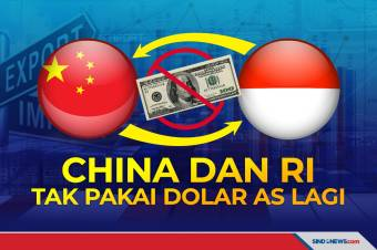 Perdagangan RI-China Tak Lagi Menggunakan Dolar Amerika Serikat