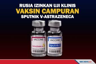 Rusia Izinkan Uji Klinis Vaksin Campuran Sputnik V-AstraZeneca