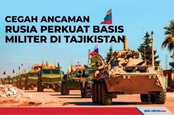 Cegah Ancaman, Rusia Perkuat Basis Militer di Tajikistan