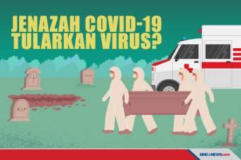 Apakah Jenazah Covid-19 Bisa Menularkan Virus ke Orang Lain?