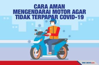 Cara Aman Mengendarai Motor Agar Tidak Terpapar Covid-19