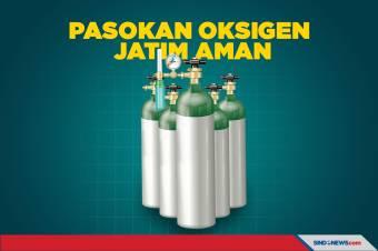Menteri BUMN Erick Thohir Jamin Pasokan Oksigen untuk Jatim Aman