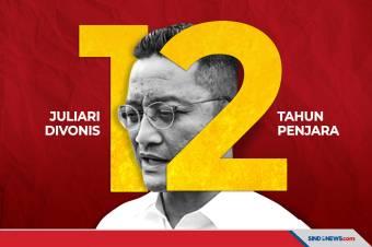 Kasus Bansos Covid-19, Juliari Batubara Divonis 12 Tahun Penjara