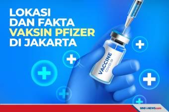 Lokasi dan Fakta Vaksin Pfizer yang Disiapkan Pemprov DKI Jakarta