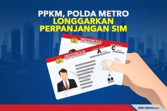 PPKM, Polda Metro Jaya Longgarkan Perpanjangan SIM