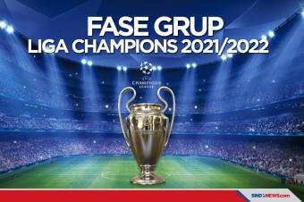 Drawing Liga Champions 2021-2022: Man City Satu Grup dengan PSG