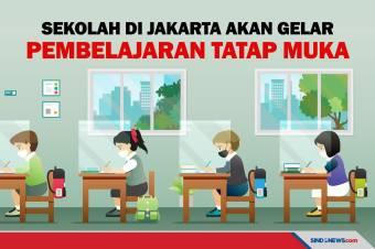 Sekolah di Jakarta akan Selenggarakan Pembelajaran Tatap Muka