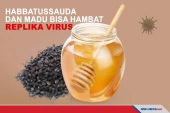 Perpaduan Habbatussauda dan Madu Bisa Hambat Replika Virus