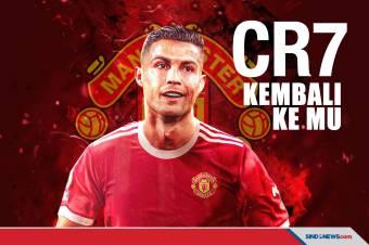 Cristiano Ronaldo Resmi Kembali ke Manchester United