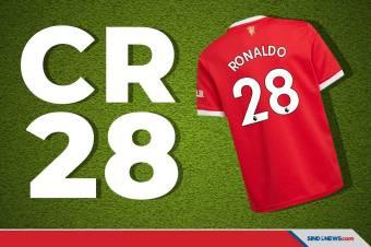 Sudah Dipakai Cavani, Cristiano Menggunakan Nomor Punggung 28?