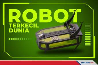 Robot Serangga Seberat Tiga Butir Beras Siap Diproduksi