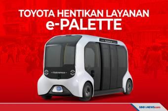 Layanan e-Palette Dihentikan Toyota karena Bahayakan Pejalan Kaki