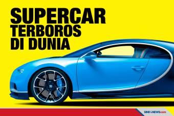 Deretan Mobil Super Paling Boros Bahan Bakar di Dunia