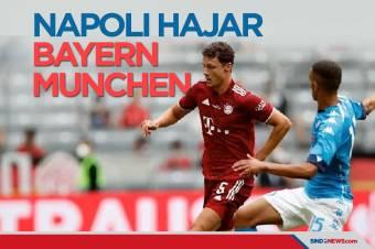 Uji Coba Pramusim, Napoli Hajar Bayern Munchen di Allianz Arena