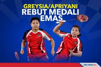 Greysia/Apriyani Rebut Medali Emas Olimpiade Tokyo 2020