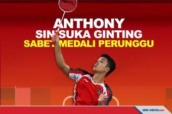 Kalahkan Kevin Cordon, Anthony Ginting Sabet Medali Perunggu