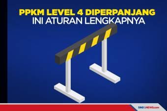 Berikut Aturan Lengkap Perpanjangan PPKM Level 4