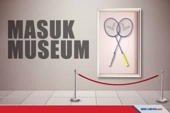 Raket Greysia Polii/Apriyani Rahayu Dikirim Ke Museum Olimpiade